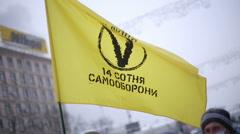 Flag revolution Stock Footage