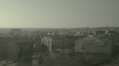 Timelapse Madrid city Stock Footage