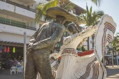 Vallarta Dancers Statue Stock Photos
