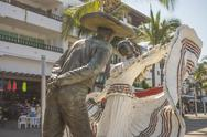 Stock Photo of Vallarta Dancers Statue