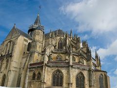 Church in Eu - stock photo