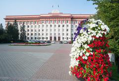 Tyumen regional duma. Russia - stock photo