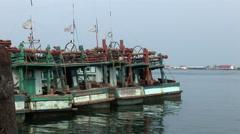 The Fishing Village Sihanoukville Stock Footage