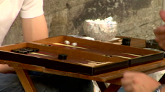 Backgammon Stock Footage
