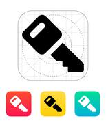 Car key icon - stock illustration