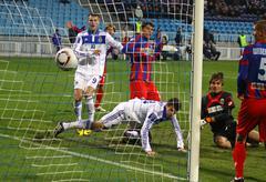 FC Dynamo Kyiv vs FC Sevastopol Stock Photos
