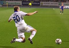 Oleg Gusev of Dynamo Kyiv Stock Photos
