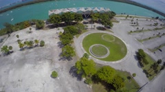 Key Biscayne Marine stadium clip 5 Stock Footage
