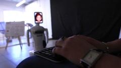 keyboard control - stock footage