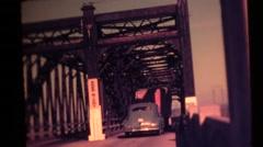 Bay of Fundy, Nova Scotia vintage Stock Footage