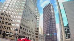 Pittsburgh Tall Buildings Establishing Shot - stock footage