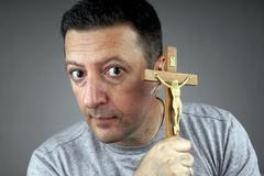 Religious Man Stock Photos