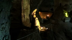 Buddhist Cave Temple - 1 Stock Footage