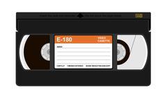 VHS cassette Piirros