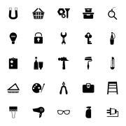 DIY icons on white background Stock Illustration