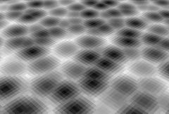 Abstract pixel blob fluid background in gray Stock Illustration