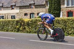The Cyclist Alexandre Geniez - stock photo
