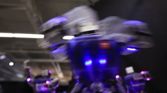 small robot - stock footage
