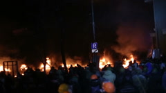 UKRAINE, KIEV,revolution 2014 Stock Footage