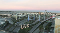 LAX Airport Stock Footage