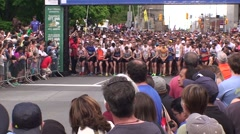 The Tamarack Ottawa Race Weekend 5K-10K and full marathon race Stock Footage