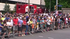 The Tamarack Ottawa Race Weekend 5K-10K and full marathon race Stock Footage