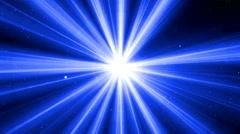 Aura polar concert light 6 - stock footage
