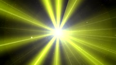Aura polar concert light 13 Stock Footage