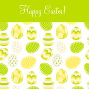 Stock Illustration of Beautiful Easter Egg Background Vector Illustration