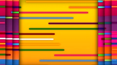 Colourful Lines Scroll - stock footage