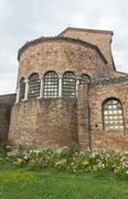Ravenna (Italy), San Giovanni Evangelista church - stock photo