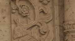 Ancient Church Exterior, Carved in Pumice Stock Footage