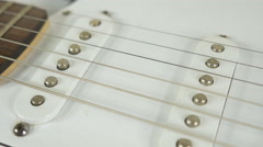 4K - Guitar close up Stock Footage