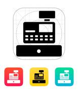 Cash register machine icon Piirros
