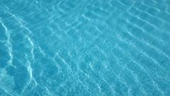 Pool blue wave Stock Footage