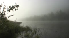 Foggy morning on the river - Yuryuzan Stock Footage