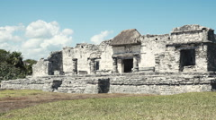 Mayan Ruins - Conference Area Stock Footage