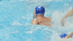 Water Polo Action 1 Stock Footage