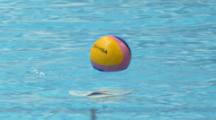 Water Polo Start Stock Footage