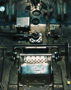 Photo of the old crushed machine - stock photo