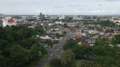 Kuching South City Council, Malaysia Stock Footage
