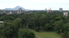 The Sarawak Parliament House, Kuching, Malaysia Stock Footage
