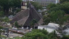The city of Kuching, Malaysia Stock Footage
