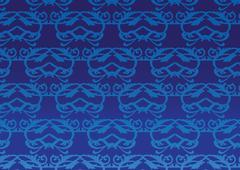 Decorative pattern wallpaper - stock illustration