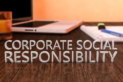 Corporate Social Responsibility - stock illustration