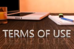 Terms of use Stock Illustration