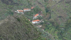 4K UHD Unesco Parque Nacional Garajonay National Park La Gomera Canary islands Stock Footage