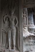 Angkor wat detail - stock photo