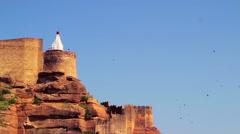 Chamunda Mataji Temple, Mehrangarh Fort, Jodhpur, India Stock Footage