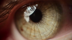 Macro Eye Iris 9 - stock footage